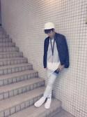Shun Kiritaniさんの「Givenchy Lanyard and Keyring(Givenchy|ジバンシイ ジバンシー)」を使ったコーディネート