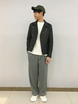 RAGEBLUEゆめタウン高松店|taro.さんの「リョウアゼニットクルー/730621(RAGEBLUE)」を使ったコーディネート
