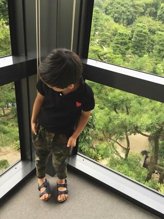 chobeanさんの「Smoothy Sarueru Chino pants / スムージー サルエルチノパンツ(Smoothy|スムージー)」を使ったコーディネート