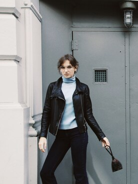 「BALES BIKER(ALLSAINTS)」 using this Zoë looks