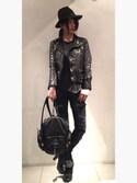 ちゃン★GOKAさんの「Alexander Wang Marti Soft-Wash Lambskin Backpack, Black(Alexander Wang|アレキサンダーワン)」を使ったコーディネート
