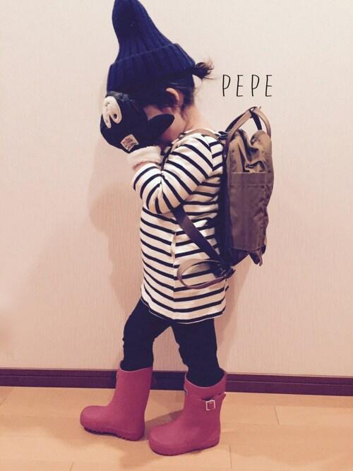 無印良品 レインブーツ 長靴 子ども用 19-20cm