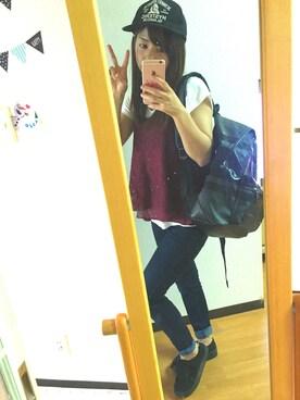 rinapiii★さんの(Honeys|ハニーズ)を使ったコーディネート