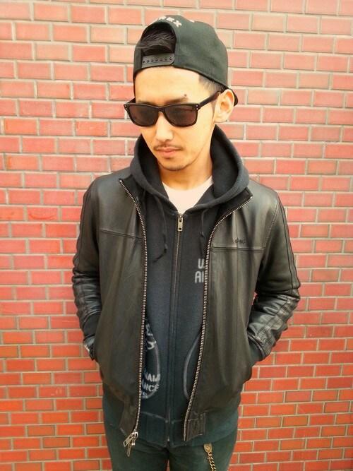 AVIREX 渋谷NISIDAさんの「( )」を使ったコーディネート