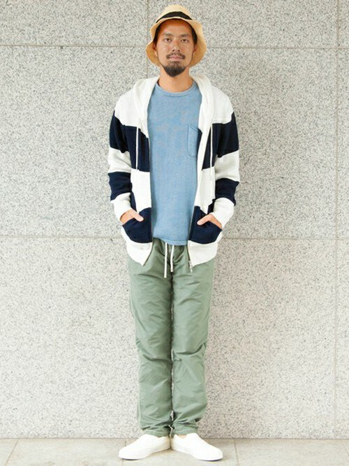 BEAUTY&YOUTH UNITED ARROWS | BEAUTY&YOUTH UNITED ARROWSさんのパーカー「BEAUTY&YOUTH UNITED ARROWS BY リリーヤーン コットン ニット パーカー◆§§」を使ったコーディネート