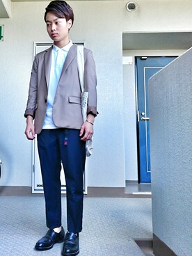 ryotaさんの(STUDIOUS|ステュディオス)を使ったコーディネート