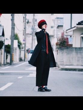 °hiromuさんの(Yves Saint Laurent|イヴサンローラン)を使ったコーディネート