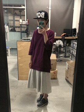 (UNIQLO) using this 塔可 looks