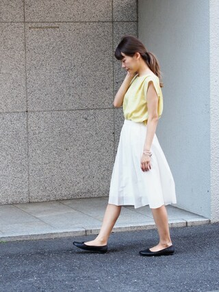 Jewel Changes shibataさんの「〓★JC C/S セイヒンゾメ フレアスカート(Jewel Changes ジュエルチェンジズ)」を使ったコーディネート