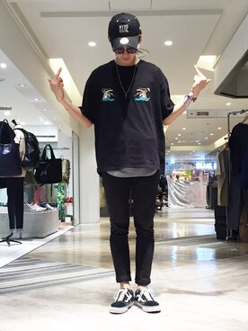 STUDIOUS MENS 3rd 原宿|YUYA KUR☺︎DAさんの(Name.|ネーム)を使ったコーディネート