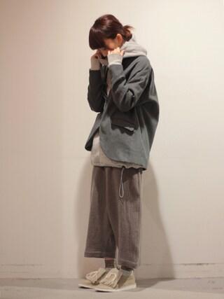 Tremolo|Tremoloさんの「Dulcamara 【ドゥルカマラ】よそいきジャケット(Dulcamara|ドゥルカマラ)」を使ったコーディネート