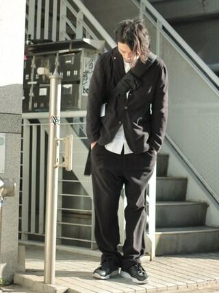Tremolo|Tremoloさんの「Elephant Branc 【エレファンブラン】 Fleece 3B Jacket(Elephant Blanc|エレファンブラン)」を使ったコーディネート
