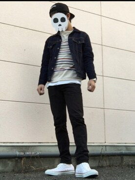 ☠kota kihara☠さんの(BLUE BLUE JAPAN|ブルーブルージャパン)を使ったコーディネート