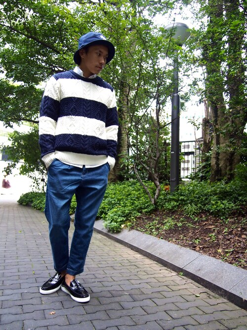 VANQUISH 天神コア店 | Tatsuhiro_Fujimatsuさんの「VANQUISH [先行予約]STUSSYコラボ バケットハット[VAC691]」を使ったコーディネート