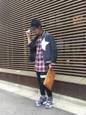 yamauchiさんの「【MCM】DOCUMENT CASE(MCM|エムシーエム)」を使ったコーディネート