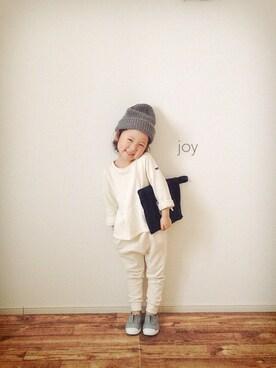 バニージョイ☆さんの「長袖デザインスウェット(quoti use fith)」を使ったコーディネート