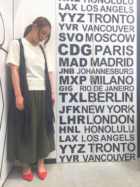 FLASHREPORT ららぽーと和泉店|ayaka¿?さんの(GYDA|ジェイダ)を使ったコーディネート