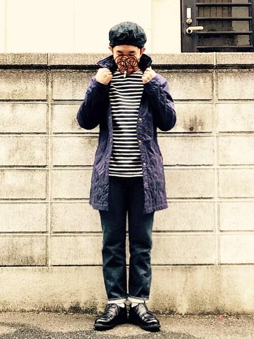 バスクシャツ×ラベンハムでフレンチトラッドな着こなし 画像1