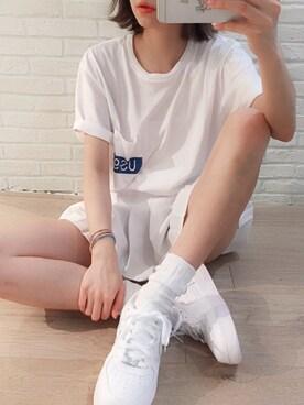 小澤 楓(CYORI)さんの(emmi|ナイキ)を使ったコーディネート