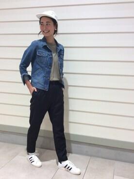asuka itoさんの「ビーミング by ビームス / 無地Tシャツ(B:MING LIFE STORE by BEAMS)」を使ったコーディネート