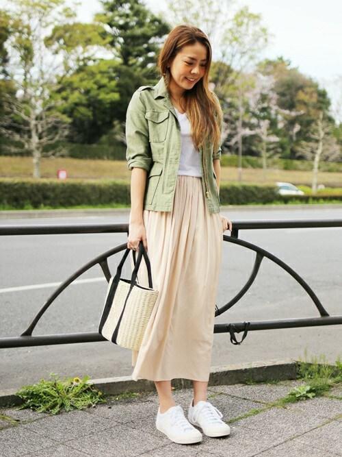green label relaxing|Kitamuraさんのかごバッグ「CB テープハンドル カゴバッグ 2016(green label relaxing|グリーンレーベルリラクシング)」を使ったコーディネート