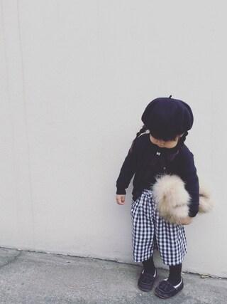「ベレー帽(GROOVY COLORS)」 using this kyarin looks