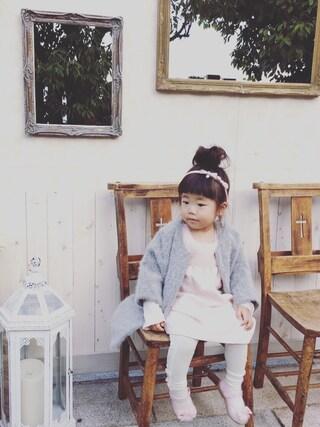「ハーフアンゴラ8分袖コート(SWAP MEET MARKET)」 using this kyarin looks
