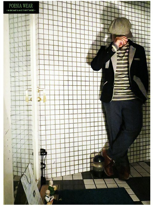 POESIA-Mas-さんの「[POESIA WEAR]Original Jacket(POESIA WEAR)」を使ったコーディネート