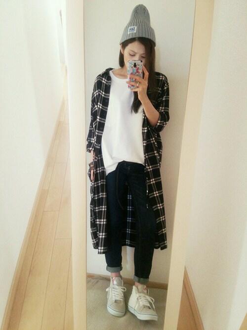 【メンズ・レディース別】ロングシャツのおすすめコーデ 花柄