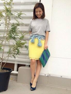 うめちゃん│FONCEのTシャツ・カットソーコーディネート