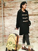yuriさんの「HALE BOB スーツケース S /ヘイリーボブ(other アザー)」を使ったコーディネート