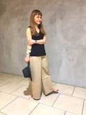 Misa Hashimotoさんの「<CATHs>∵ホーンバングル◆(BEAUTY&YOUTH UNITED ARROWS|ビューティアンドユースユナイテッドアローズ)」を使ったコーディネート
