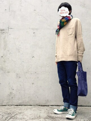 「CONVERSE / JACK PURCELL RSC(Jack Purcell)」 using this せん@プチプラ looks
