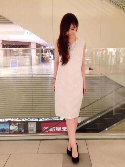 結婚式服装夏スタイル
