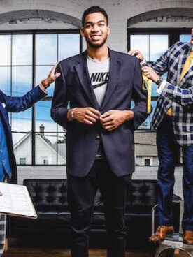 (NIKE) using this Karl Anthony Towns looks