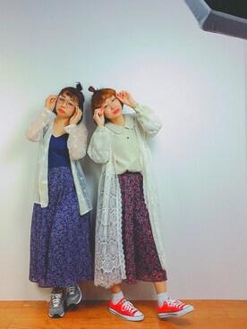 Reina  Negishiさんの(古着(三びきのこねこ))を使ったコーディネート
