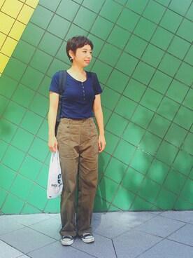 Reina  Ohnoさんの(URBAN RESEARCH Sonny Label|アーバンリサーチサニーレーベル)を使ったコーディネート