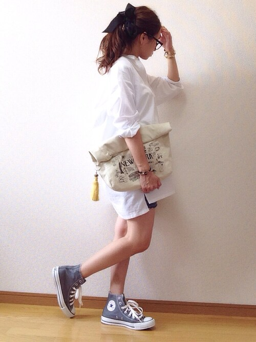 人気のシャツワンピコーデはUNIQLO(ユニクロ)GU(ジーユー)でプチプラオシャレ♡