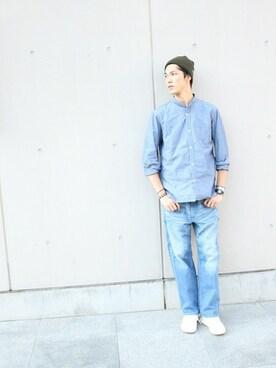 DUFFER 名古屋パルコ店|TAKEKAWAさんの(The DUFFER of ST.GEORGE|ザダファーオブセントジョージ)を使ったコーディネート