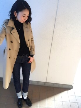 Mitsumiさんの「★1 ビーミング by ビームス / トレンチコート(B:MING LIFE STORE by BEAMS)」を使ったコーディネート