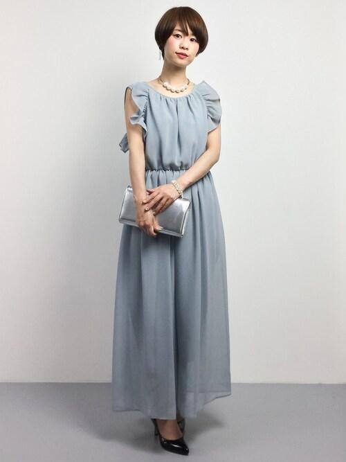 夏の結婚式 服装 女性