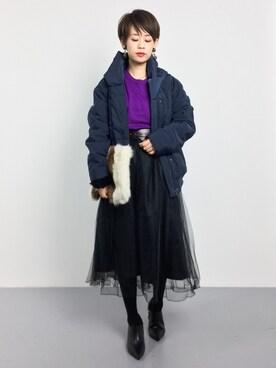 ZOZOTOWN|yukiさんの(SHIPS for women|シップスフォーウィメン)を使ったコーディネート