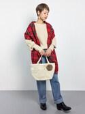 yukiさんの「ポケットトートバッグ◇(SHIPS for women|シップスフォーウィメン)」を使ったコーディネート
