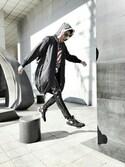 hhyさんの「Alexander Wang Icon Pebbled Leather Backpack, Black(Alexander Wang|アレキサンダーワン)」を使ったコーディネート