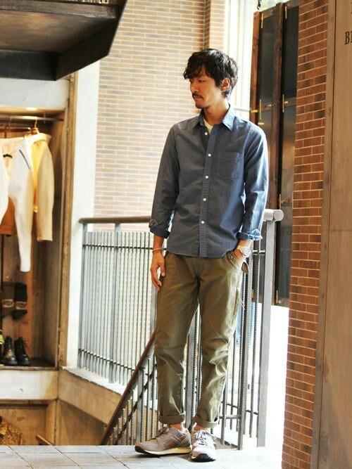 JOURNAL STANDARD 横浜店Sasaさんの「(|)」を使ったコーディネート