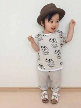 aさんの(韓国子供服)を使ったコーディネート