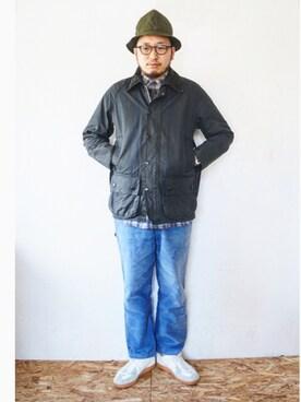 tortoise|yoheiさんの(Barbour|バーブァー)を使ったコーディネート