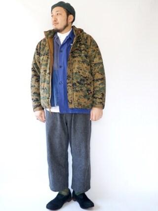 tortoise|yoheiさんの(usmc ハッピースーツ level7)を使ったコーディネート