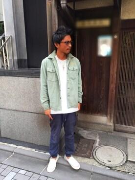 HYSTERIC GLAMOUR京都店 京都くんさんの(HYSTERIC GLAMOUR ヒステリックグラマー)を使ったコーディネート
