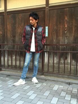 HYSTERIC GLAMOUR京都店|京都くんさんの「CPO SH(HYSTERIC GLAMOUR)」を使ったコーディネート